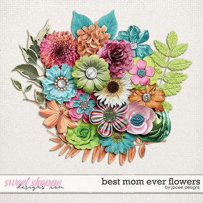 Best Mom Ever Flowers by JoCee Designs