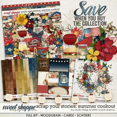 Scrap Your Stories: Summer Cookout Bundle by Studio Flergs and Kristin Cronin-Barrow