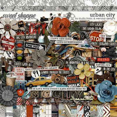 Urban City Kit by Studio Basic & WendyP Designs