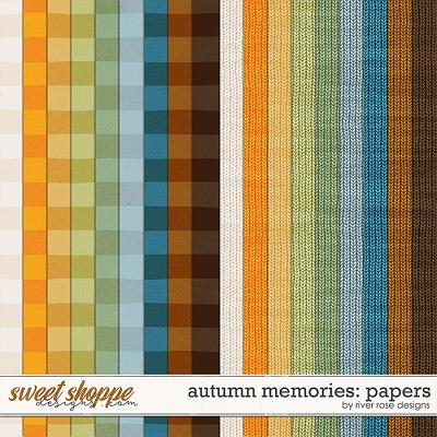 Autumn Memories: Papers by River Rose Designs