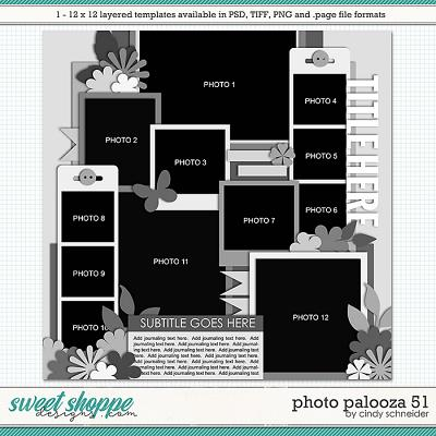 Cindy's Layered Templates - Photo Palooza 51 by Cindy Schneider
