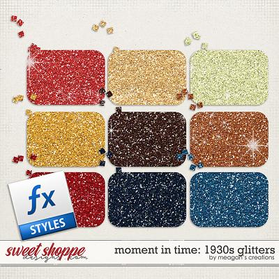 Moment in Time: 1930s Glitters by Meagan's Creations