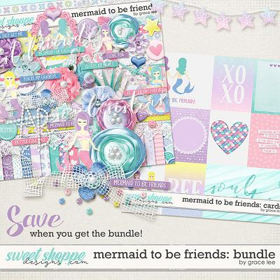 Mermaid To Be Friends: Bundle by Grace Lee