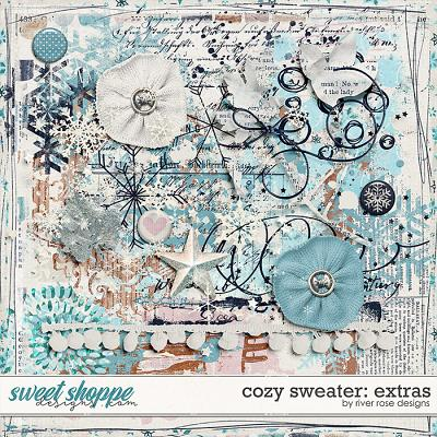 Cozy Sweater: Extras by River Rose Designs