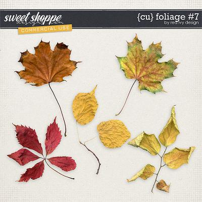 CU Foliage #7 by Red Ivy Design