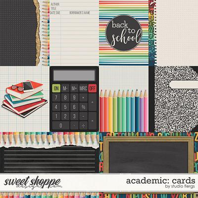 Academic: CARDS by Studio Flergs