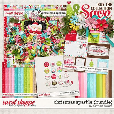 Christmas Sparkle Bundle by Ponytails