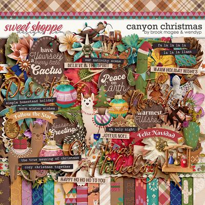 Canyon Christmas by Brook Magee & WendyP Designs