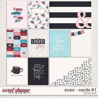 XOXO Journal Cards #1 by Traci Reed