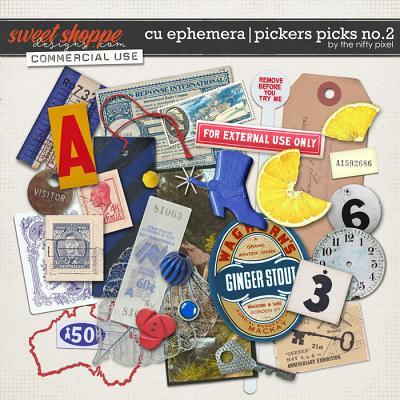 CU EPHEMERA | PICKERS PICKS No.2 by The Nifty Pixel