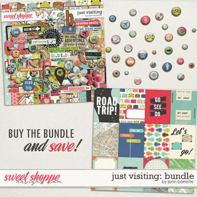 Just Visiting: Bundle by Jenn Barrette