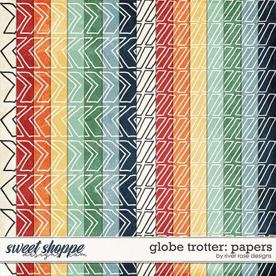 Globe Trotter: Papers by River Rose Designs