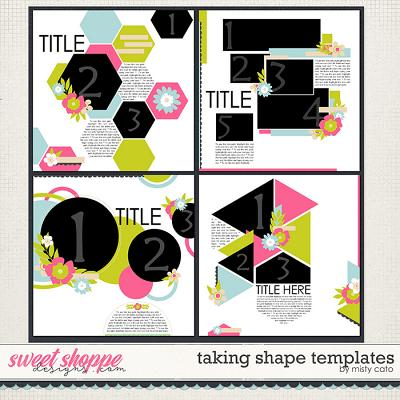 Taking Shape Templates by Misty Cato