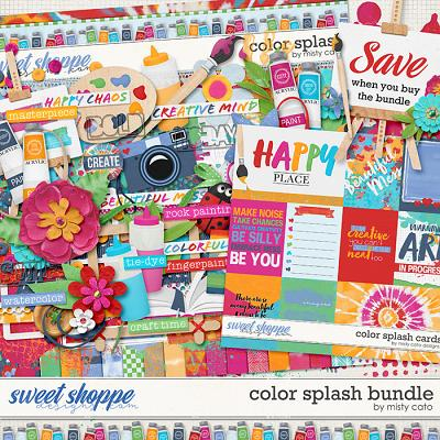 Color Splash Bundle by Misty Cato