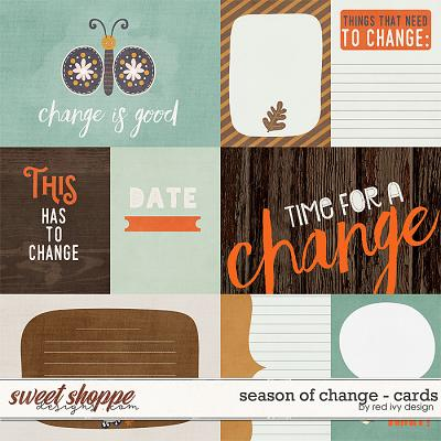 Season of Change - Cards by Red Ivy Design