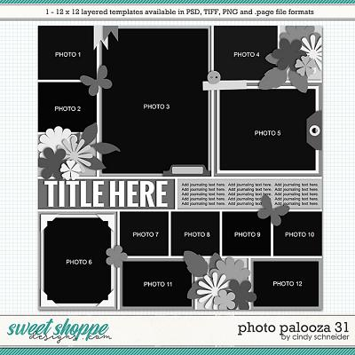 Cindy's Layered Templates - Photo Palooza 31 by Cindy Schneider