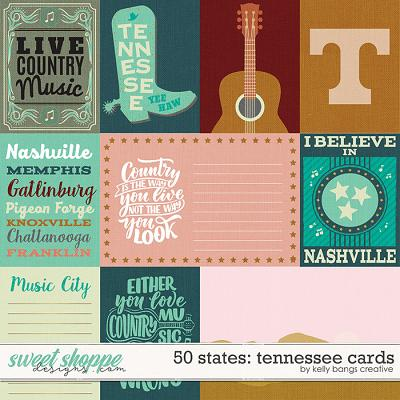 50 States: Tennessee Cards by Kelly Bangs Creative