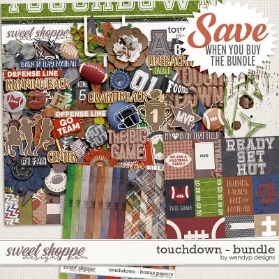 Touchdown - bundle by WendyP Designs
