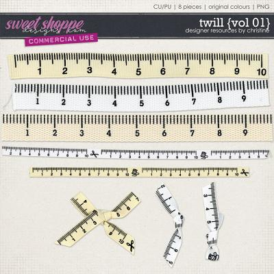 Twill {Vol 01} by Christine Mortimer