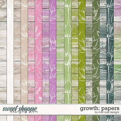 Growth: Papers by River Rose Designs
