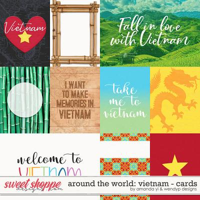 Around the world: Vietnam - Cards by Amanda Yi & WendyP Designs