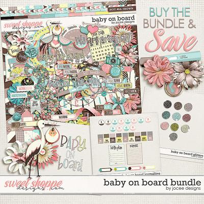 Baby on Board Bundle by JoCee Designs