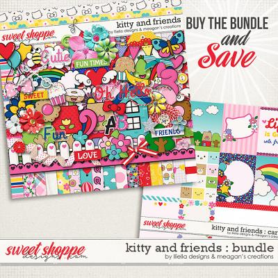 Kitty and Friends : Bundle by Lliella Designs & Meagan's Creations