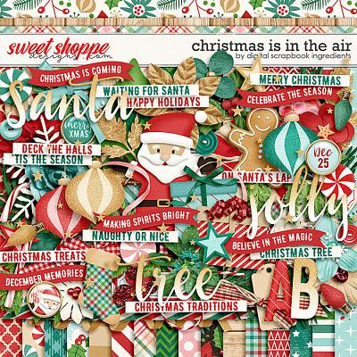 Christmas Is In The Air by Digital Scrapbook Ingredients