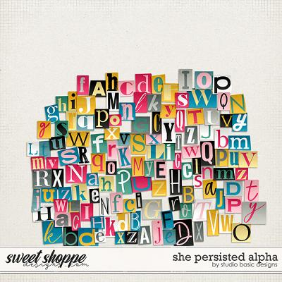 She Persisted Alpha by Studio Basic