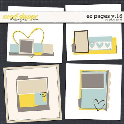 EZ Pages v.15 Templates by Erica Zane