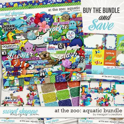 At the Zoo: Aquatic Collection Bundle by Meagan's Creations