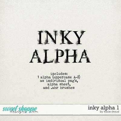 Inky Alpha no. 1 by Tracie Stroud