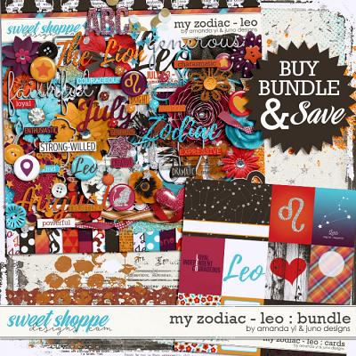 My Zodiac - Leo : Bundle by Amanda Yi & Juno Designs