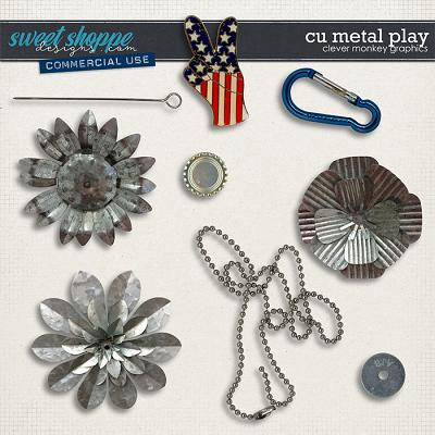 CU Metal Play by Clever Monkey Graphics