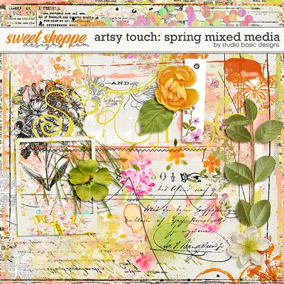 Artsy Touch: Spring Mixed Media by Studio Basic