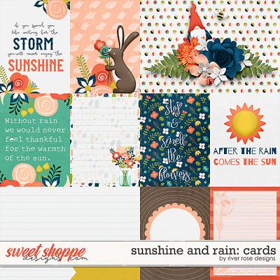 Sunshine and Rain: Cards by River Rose Designs