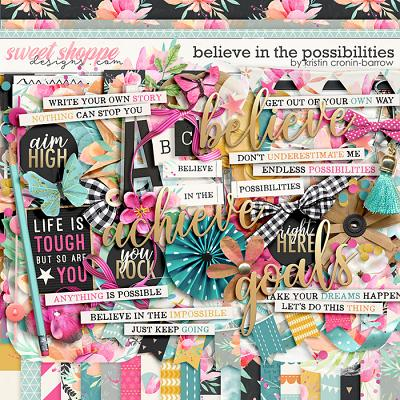 Believe in the possibilities by Kristin Cronin-Barrow