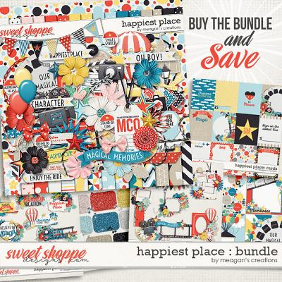 Happiest Place : Bundle by Meagan's Creations