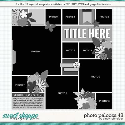 Cindy's Layered Templates - Photo Palooza 48 by Cindy Schneider