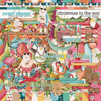 Christmas in the Sun by JoCee Designs