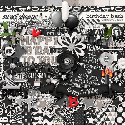 Birthday Bash {Kit} by Digilicious Design