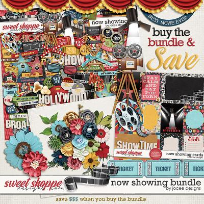 Now Showing Bundle by JoCee Designs
