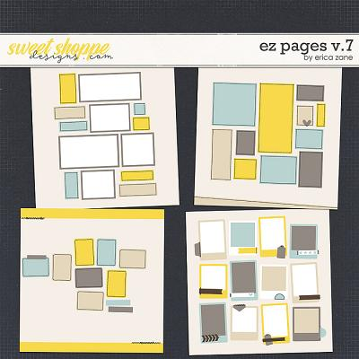 EZ Pages v.7 Templates by Erica Zane