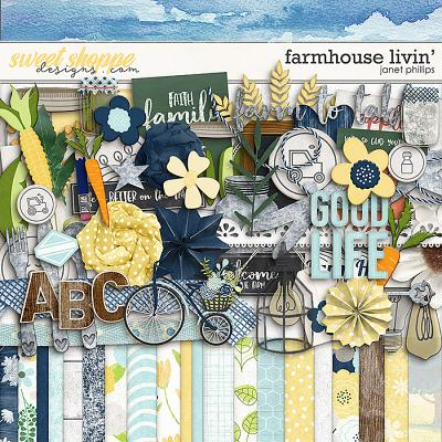 Farmhouse Livin' by Janet Phillips
