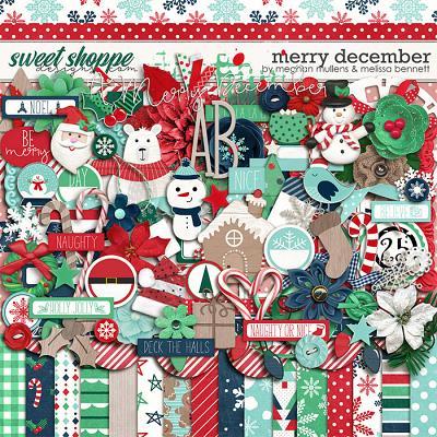 A Merry December-Kit by Melissa Bennett and Meghan Mullens