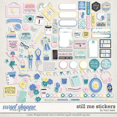 Still Me Stickers by Traci Reed