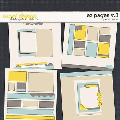 EZ Pages v.3 Templates by Erica Zane