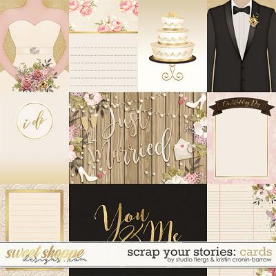 Scrap Your Stories: Wedding - Cards by Studio Flergs and Kristin Cronin-Barrow