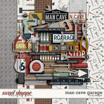 Man Cave Garage by LJS Designs