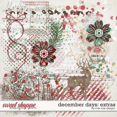 December Days Extras by River Rose Designs